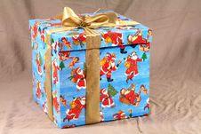 Free Present Box Royalty Free Stock Photography - 4054587