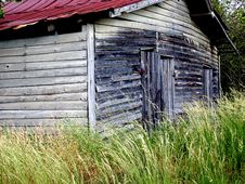 Free The Red Roofed Barn Royalty Free Stock Photo - 4054715