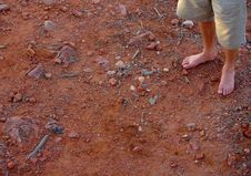 Free Desert Feet, Arkaroola Royalty Free Stock Image - 4054736