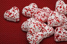 Free Valentine Hearts Candy Stock Photos - 4054833
