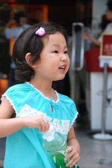 Free Mischievous Child Royalty Free Stock Image - 4054956