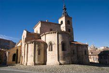 Free Segovia Church Royalty Free Stock Photos - 4055198