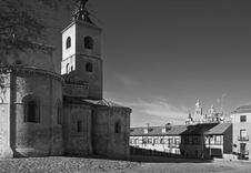Free Segovia Two Churches Stock Image - 4055211