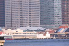 Free South Street Seaport NYC Royalty Free Stock Photos - 4055328
