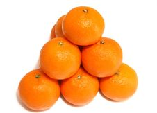Free Tangerines. Royalty Free Stock Image - 4055466