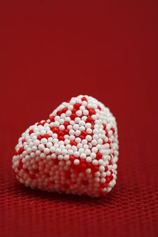 Free A Valentine Heart Candy Stock Photo - 4055700