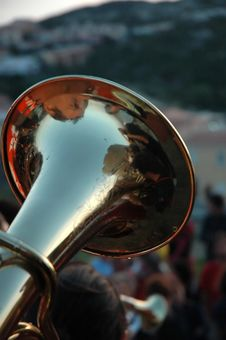 Free Tuba Stock Photography - 4055762