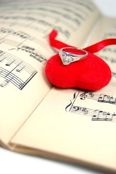 Free Music Of My Heart Stock Photography - 4056352