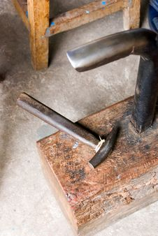 Free Silversmiths Tools Royalty Free Stock Images - 4056399