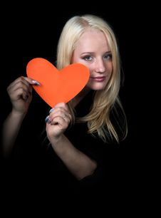 Free The Enamoured Girl Royalty Free Stock Photography - 4056937