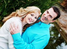 Free Happy Couple Royalty Free Stock Photos - 4057338
