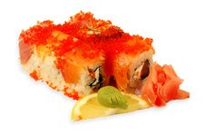 Free Sushi Roll Akita Maki Stock Images - 4058144
