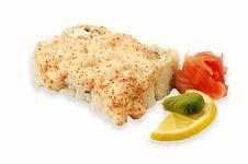 Free Sushi Roll Lava Maki Royalty Free Stock Photo - 4058205