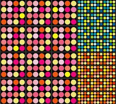 Free Retro Dots Background Royalty Free Stock Image - 4058276