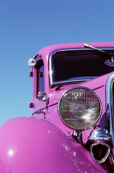 Free Purple Hotrod Stock Photography - 4058352