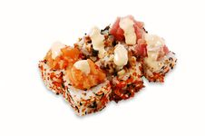 Free Sushi Roll Sandai Maki Stock Images - 4058494