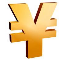 Free Yen Symbol, Royalty Free Stock Photos - 4059048