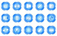 Free Multimedia Buttons Stock Photos - 4059543