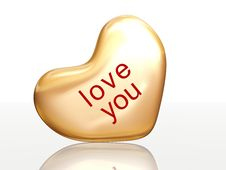 Free Love You Stock Photography - 4059742