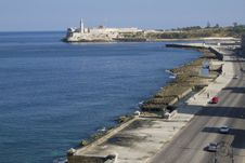 Free Havana Seafront - Malecon Esplanade Royalty Free Stock Photo - 40580045