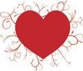 Free Swirly Heart Royalty Free Stock Image - 4061226