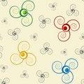 Free Abstract Seamless Vector Stock Photos - 4061703