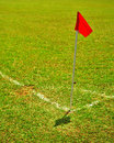 Free Red Corner Flag Royalty Free Stock Image - 4061766