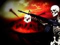 Free War Skeleton War Background 11 Royalty Free Stock Photos - 4062258