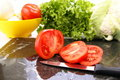 Free Sliced Tomatoes Stock Images - 4063954