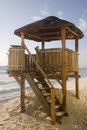Free Lifeguard Hut Royalty Free Stock Photography - 4065967