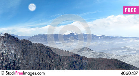 Free Fairytale Mountains Royalty Free Stock Photography - 4060487