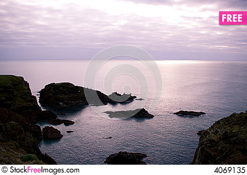 Free Seascape 2 Royalty Free Stock Photo - 4069135