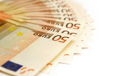 Free Fifty Euro Banknotes Stock Photos - 4060423