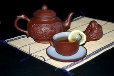 Free Tea Service Stock Image - 4060801