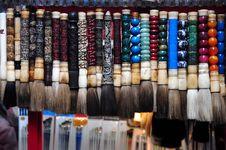 Chinese Brush Pen Stock Image