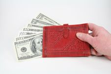 Free Money In Your Wallet Royalty Free Stock Photo - 4061205