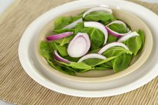 Free Spinach And Onions Stock Photos - 4062243