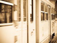 Tram Royalty Free Stock Photos