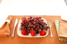 Free Eat Fruit Royalty Free Stock Image - 4062386