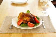 Free Roasted Chicken Royalty Free Stock Image - 4062406