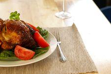 Free Roasted Chicken Stock Photos - 4062413