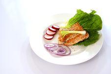 Free Salmon Royalty Free Stock Photo - 4062505