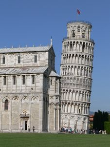 Free Pisa Leaning Tower Royalty Free Stock Photos - 4062528