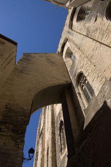 Medieval Walls Stock Image