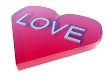 Love With Word Royalty Free Stock Photo