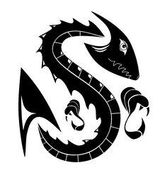 Free Vector Dragon Stock Image - 4063231