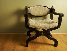 Free Ornate Roman Styled Chair Stock Photos - 4063293
