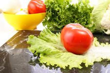 Free Fresh Vegetables Royalty Free Stock Photos - 4063928