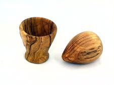 Free Vase Wooden Royalty Free Stock Photos - 4064168