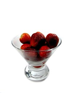 Free Strawberries In A Cup Stock Photos - 4064423